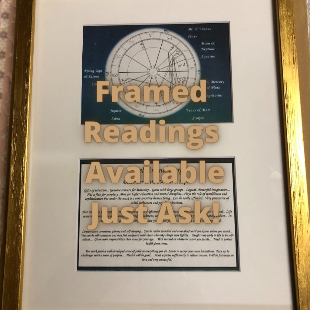 Framed Readings Available