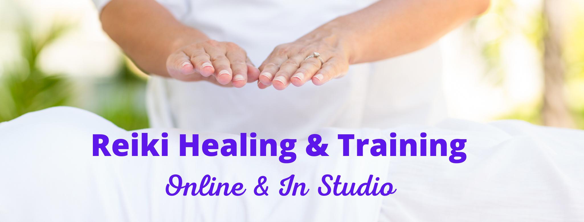 Reiki Healing & Training Online & In Studio
